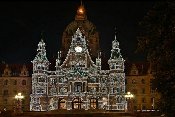 Märchenschloß-Rathaus in Hannover