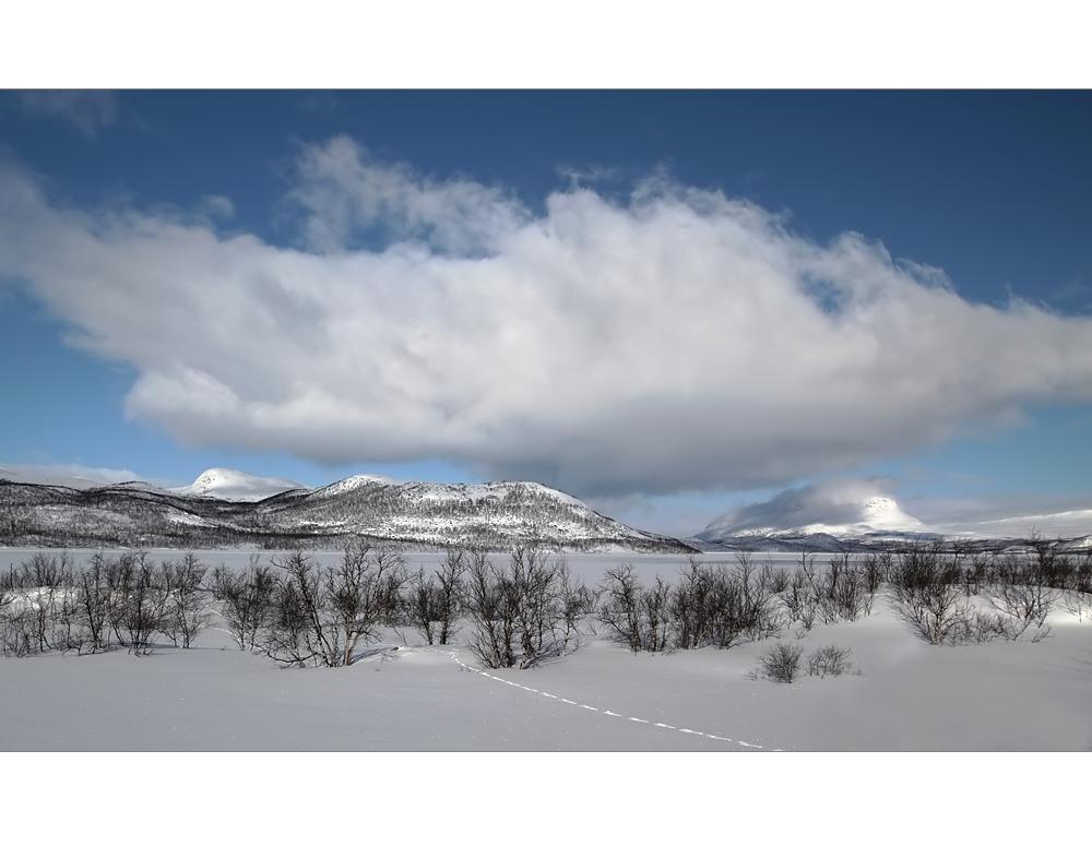 Märzwinter Lapland