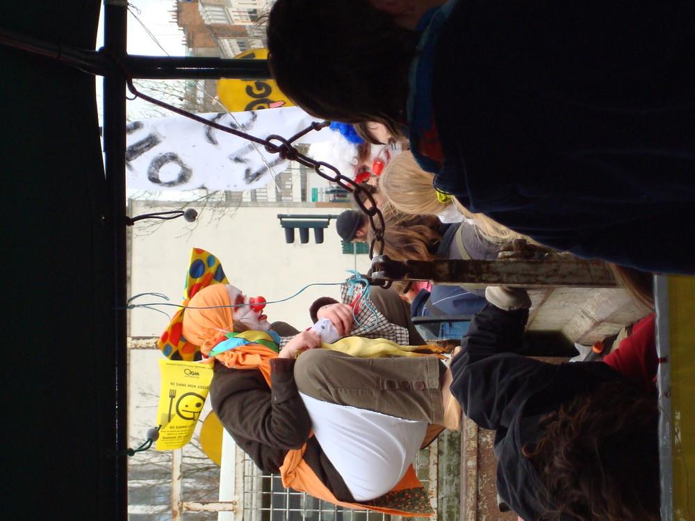 mafestation anti -ogm à rennes en mars 2008