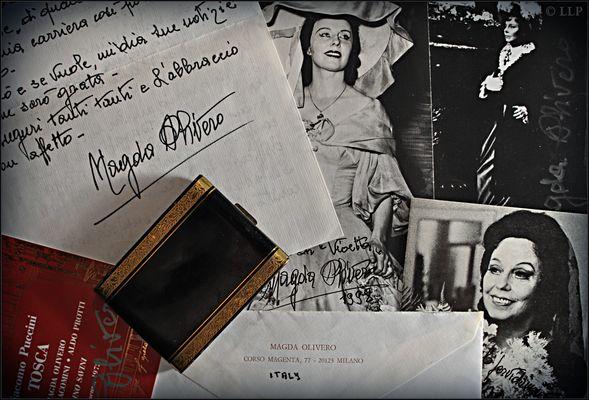 Magda Olivero - Fotos meiner Brieffreundin, dem Weltstar und der Callas-Antipodin Magda Olivero - II