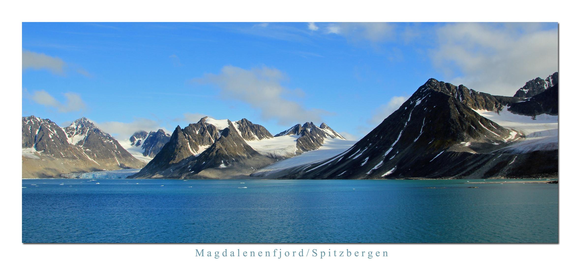 Magdalenenfjord/Spitzbergen