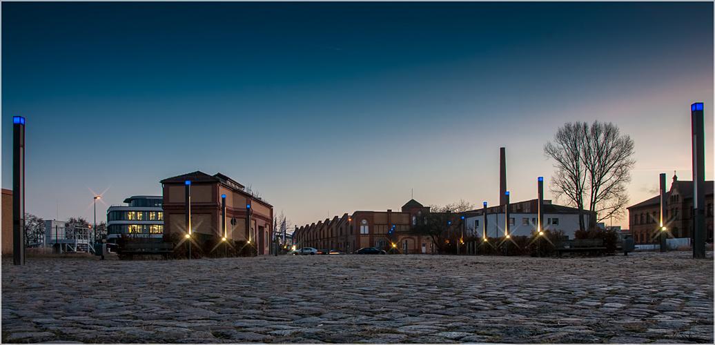 Magdeburg: Am Wissenschaftshafen