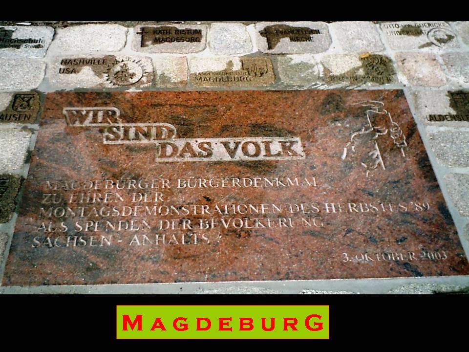 Magdeburg - Domplatz
