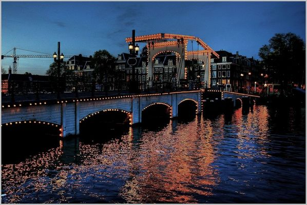 """""""Magere Brug"""" in Amsterdam"""