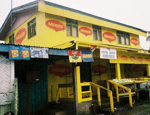 Maggi ist überall, auch auf der Fiji-Insel Viti Levu