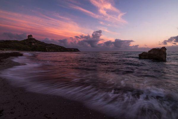 Magic Sunset in Sardinia
