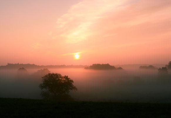 Magie des Sonnenaufgangs