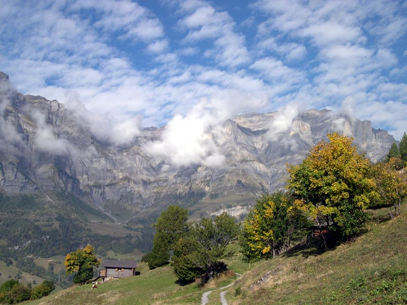 Magie einer Berglandschaft