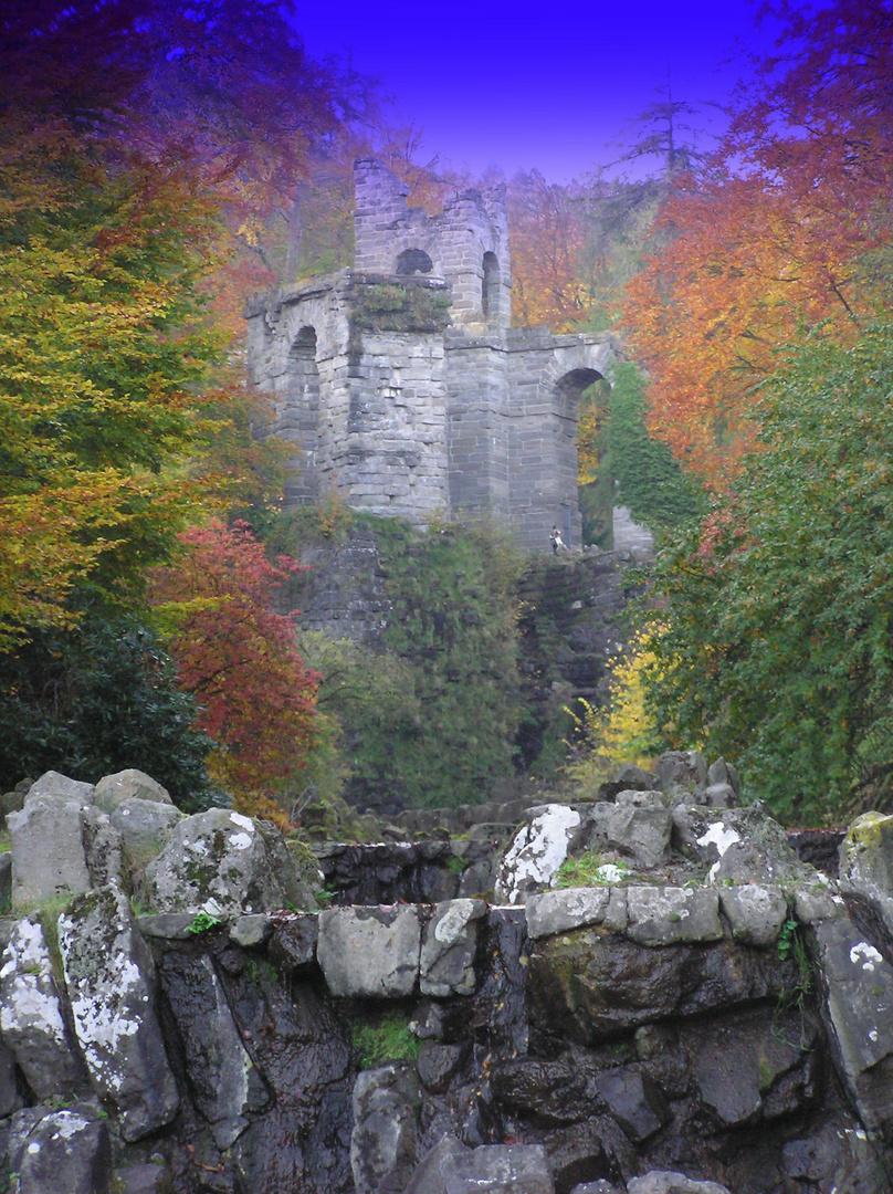 magische Herbstwelt in Wilhelmshöhe