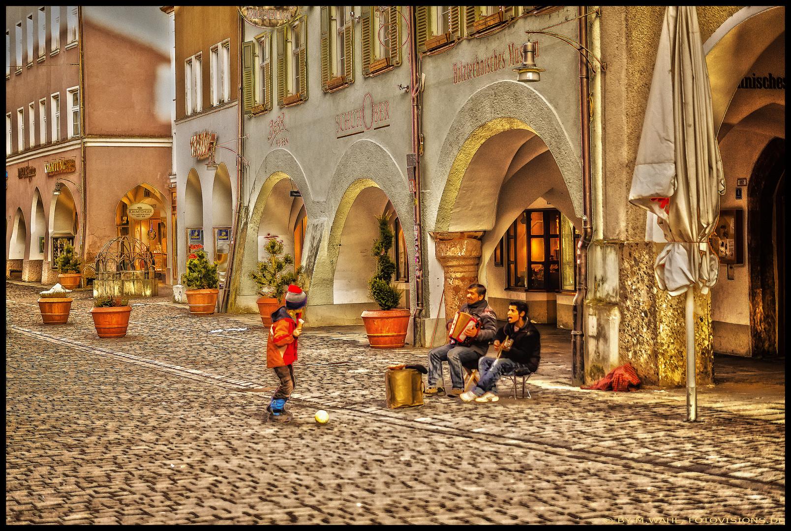 Magische Momente Teil 3 - ... von Gauklern und Musikanten ....
