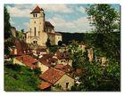 magnifique village de Saint-cirq-lapopie (lot)