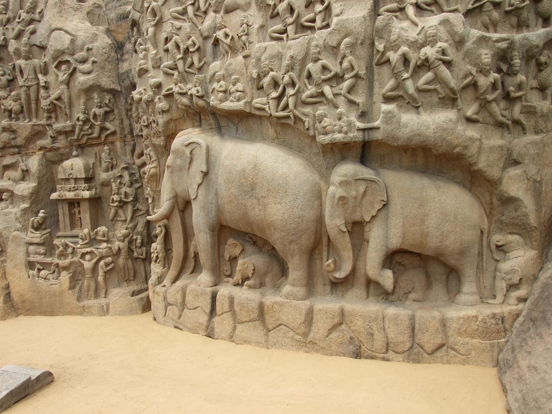 Mahabalipuram (faszinierende Ufertempel)
