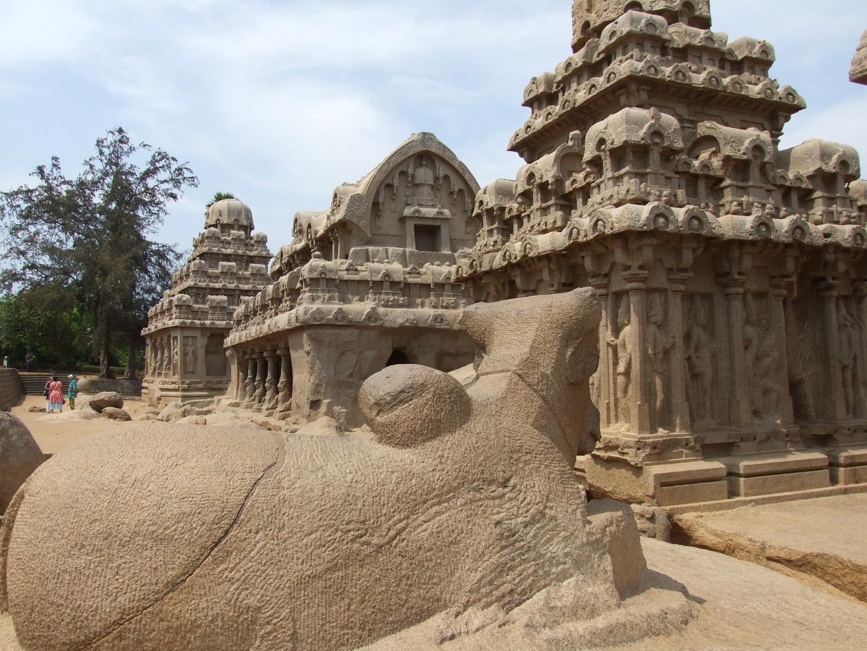 Mahabalipuram (Ufertempel der Pallava Dynastie)