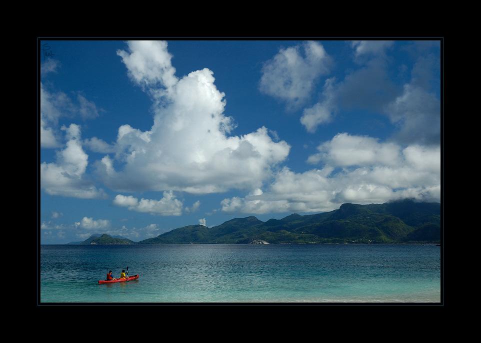Mahé, Seychellen von Sandra Petrowitz
