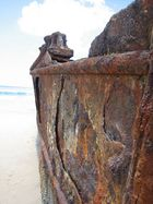 Maheno Ship Wreck, Fraser Island, Australien