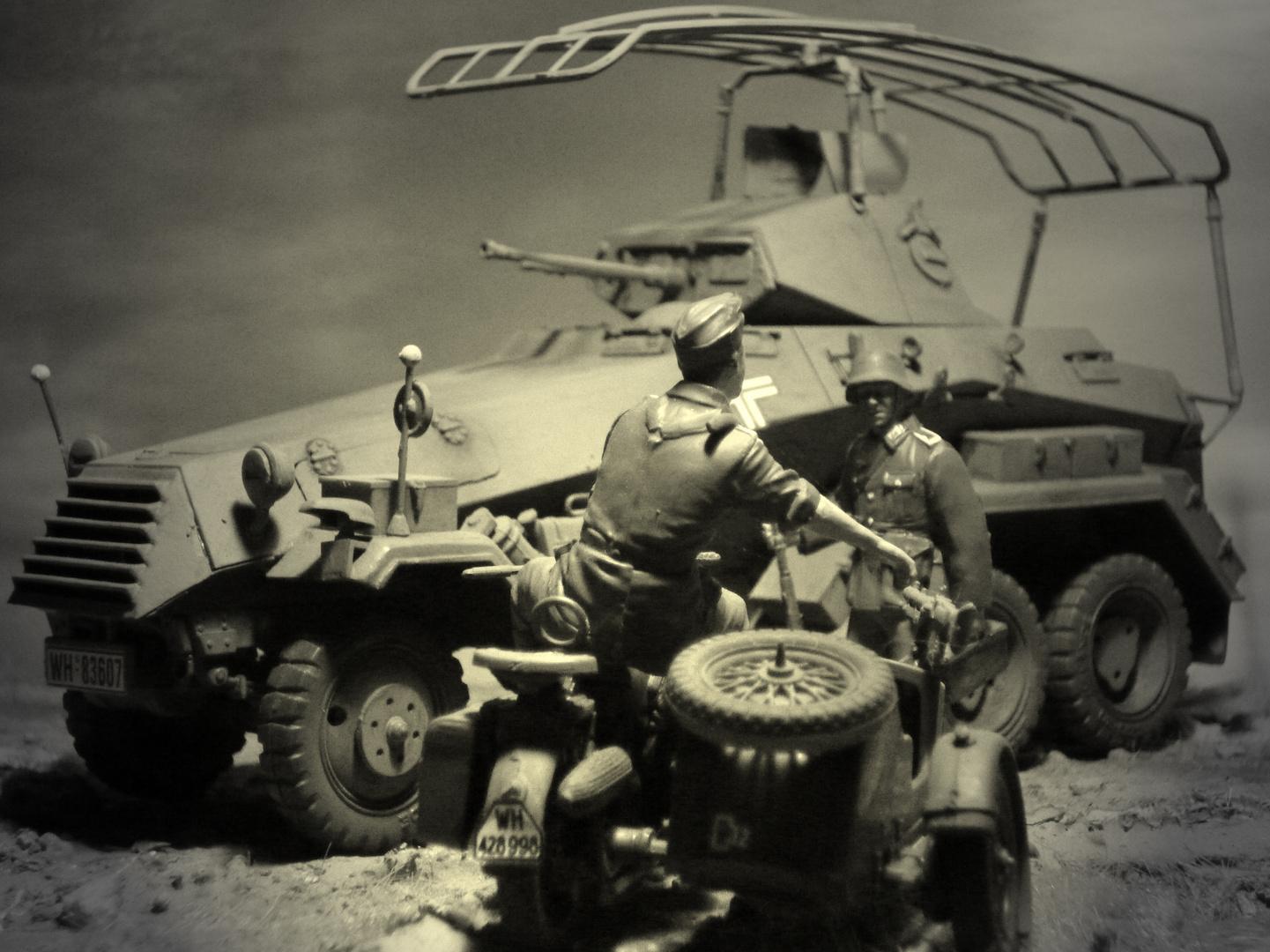Mai 1940 - Sd.Kfz 232 bei Sedan