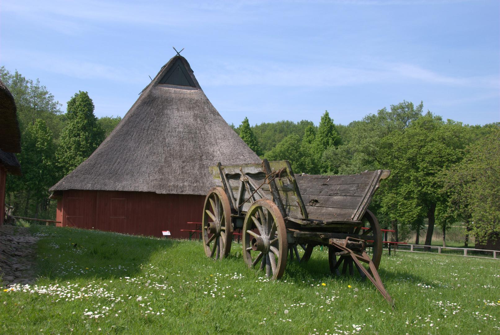 Mai im Freilichtmuseum in Molfsee.