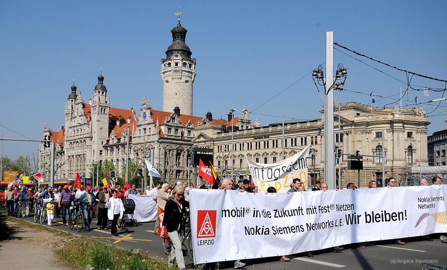 """Maidemo Leipzig """"Gemeinsam für ein gutes Leben!"""" NSN"""