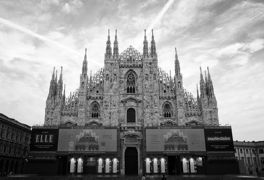 Mailand am Morgen (Pfarrer)