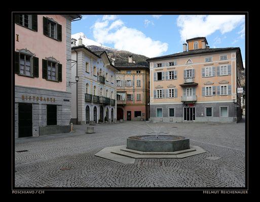 Main Square I, Poschiavo, GR / CH