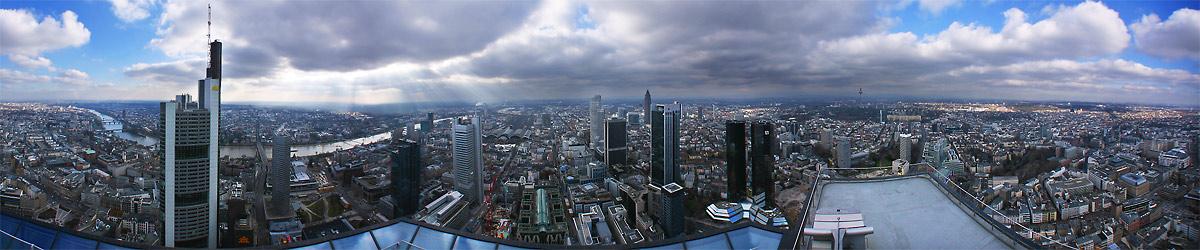 Main Tower-Blick, Frankfurt