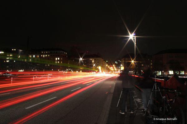 Mainbrücke @night