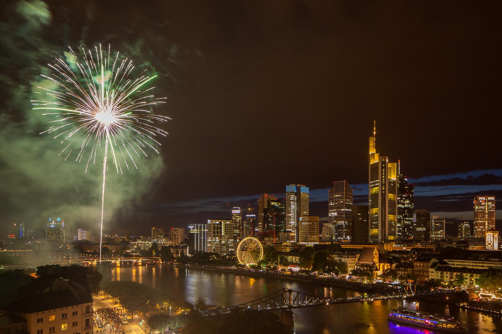 Mainfest-Feuerwerk