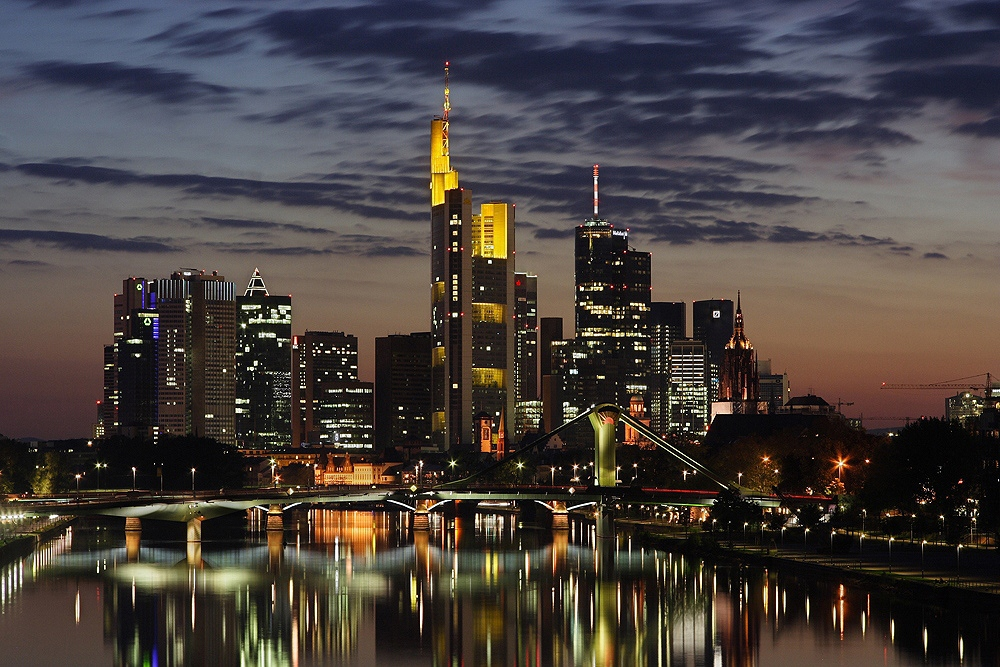 Mainhatten I - Skyline Frankfurt
