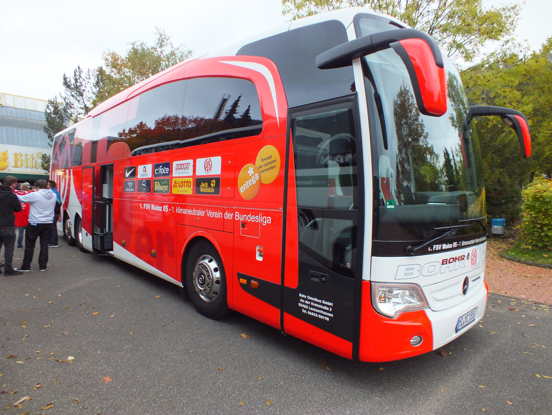 Mainz 05 Vereinsbus