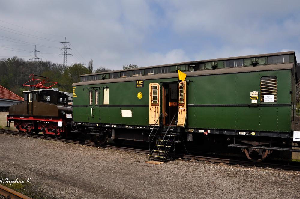 Mainz 3912 - Postwagen der Deutschen Reichspost