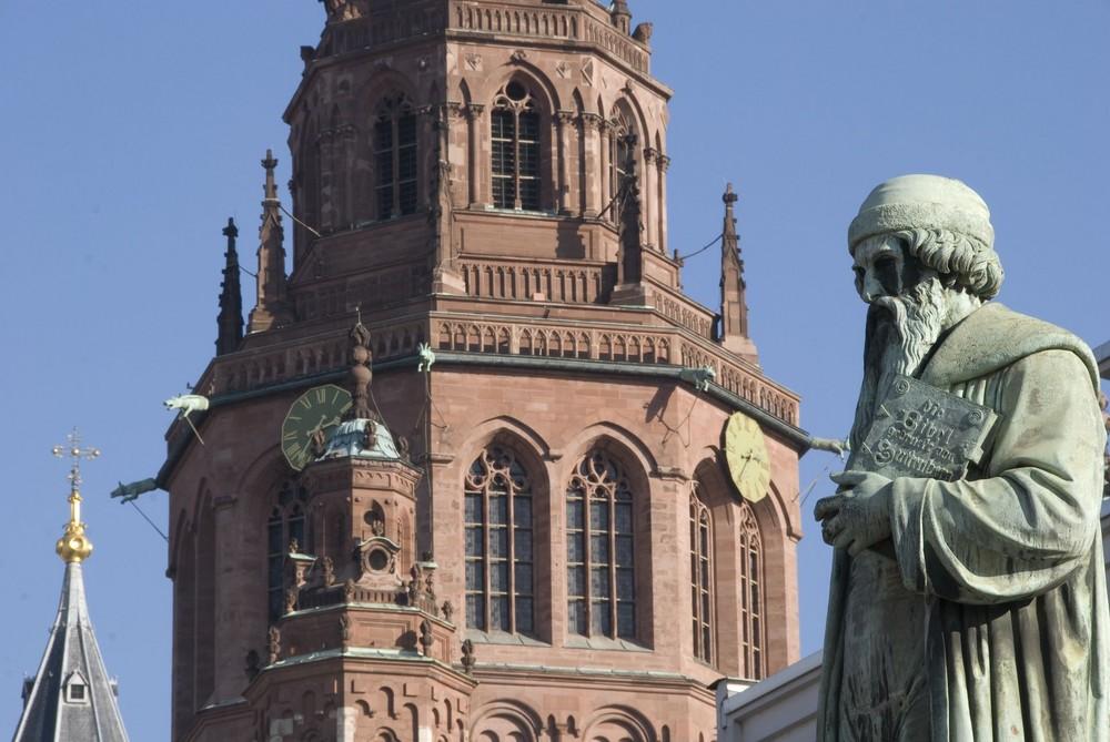 Mainz - Gutenbergdenkmal