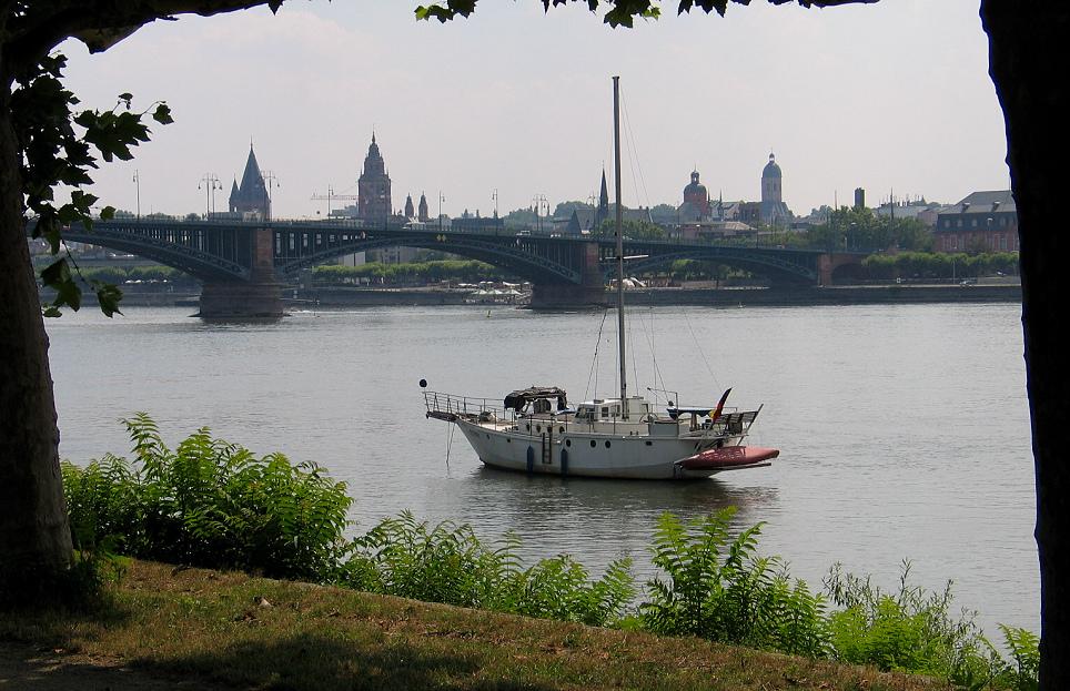 Mainzer Uferlandschaft