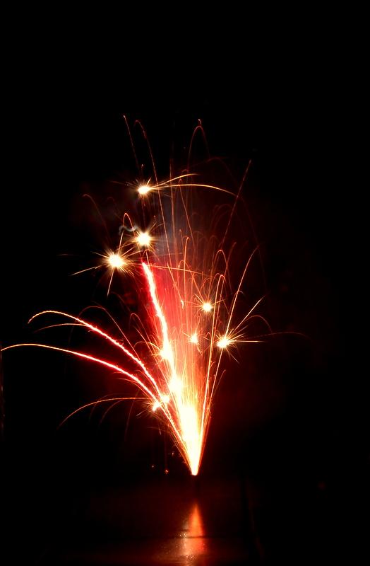 mais oui, une Feuerwerk !