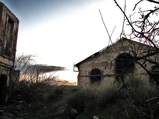 Maison abandonnée, centre ville de Marseille.
