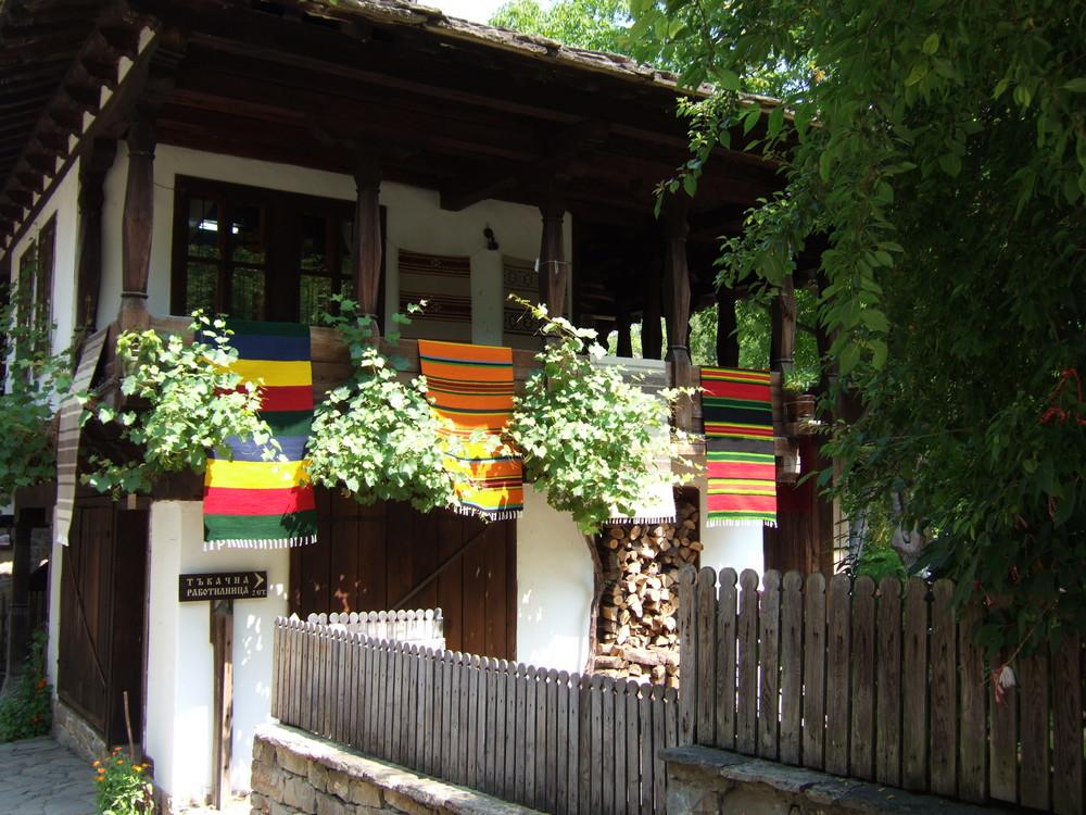Maison bulgare à Etara