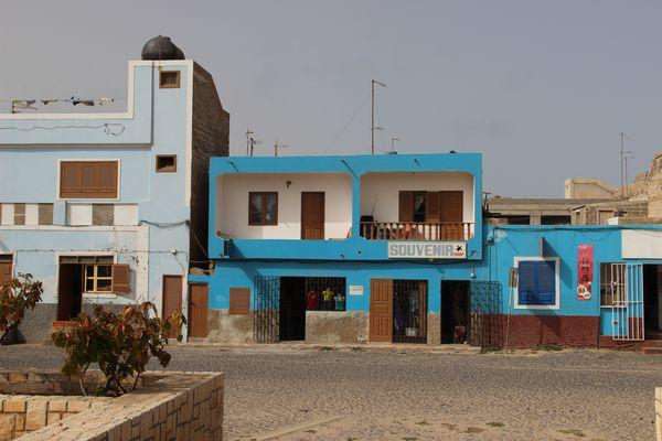 Maison colorée de Sal Rei