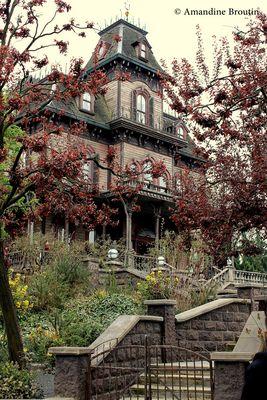 Maison hanté de Disney Paris