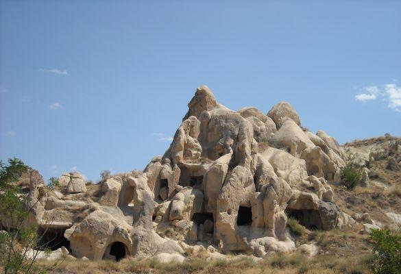 Maison troglodyte, Cappadoce