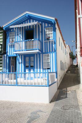 Maison Typique de Costa Nova dans la région de Aveiro