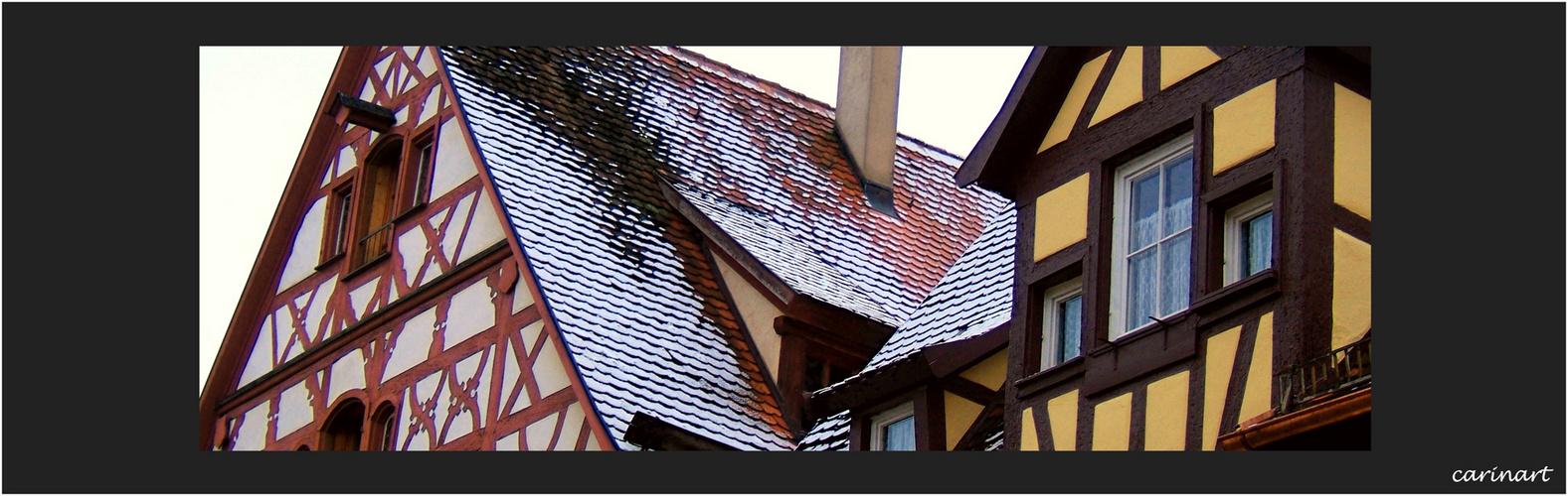 Maisons à colombages /Fachwerkhäuser