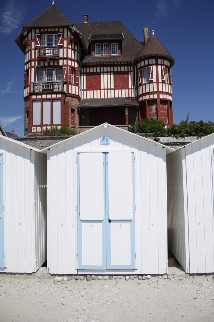 maisons de plage - le crotoy