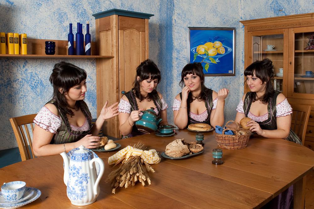 Maja aus Köln mit ihren Schwestern