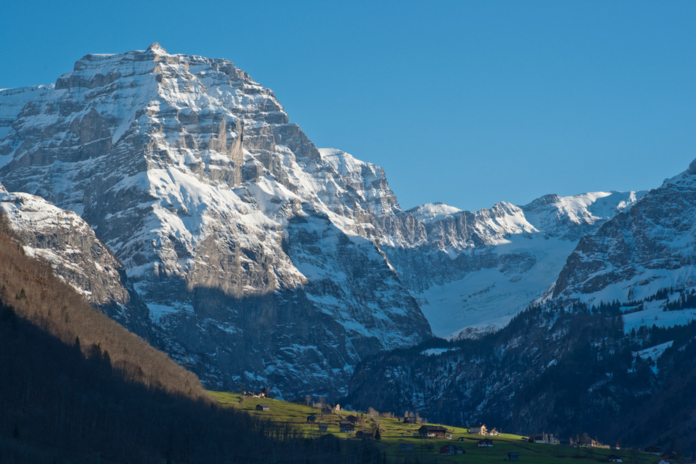 Majestätische Alpen