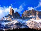 Majestätische Granit Gipfel