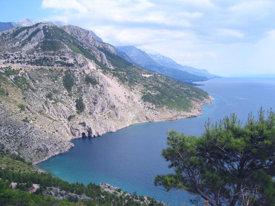 Makarska in Kroatien