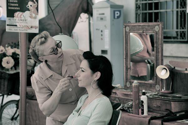 make up vintage