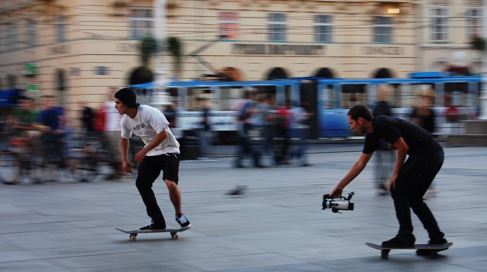 making a skate video