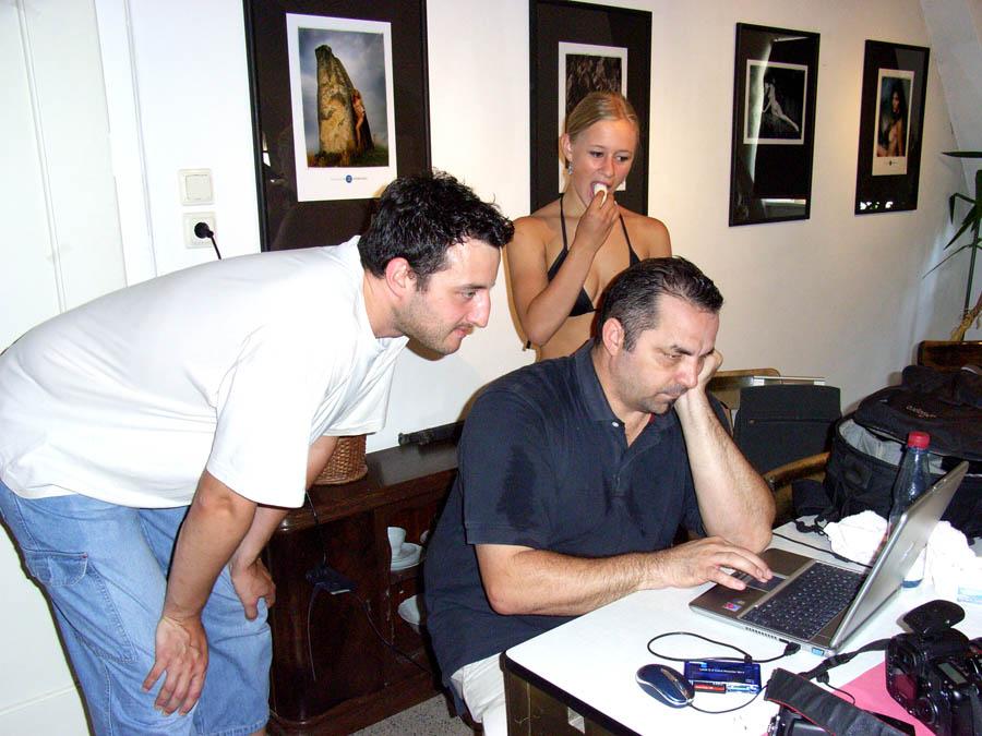 """""""Making of"""" der Low/Highkey Serien mit Anett 5"""