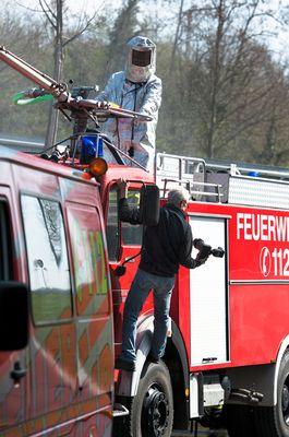 making of Feuerwehrshooting