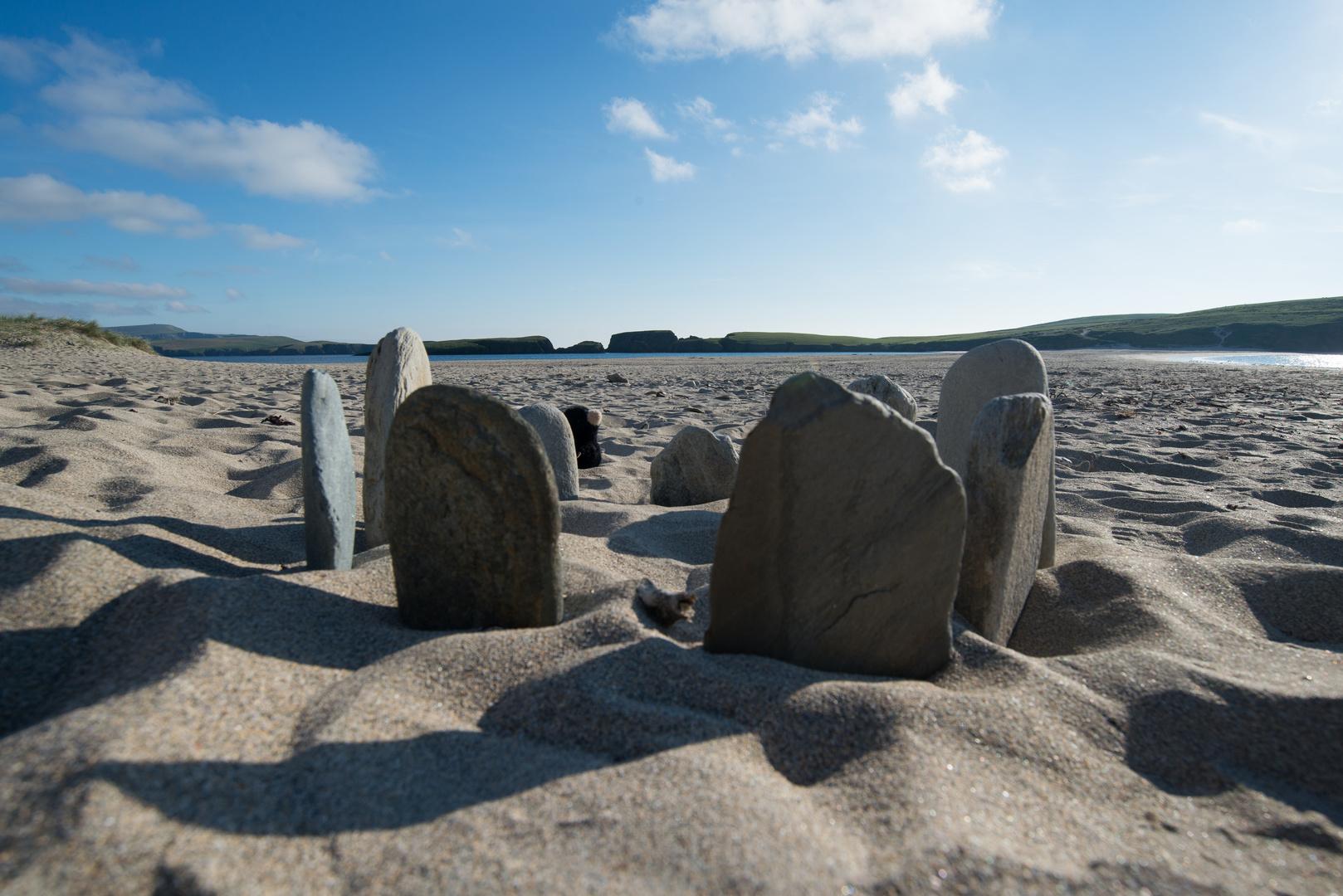 """Making of """"Stone Circle""""..."""